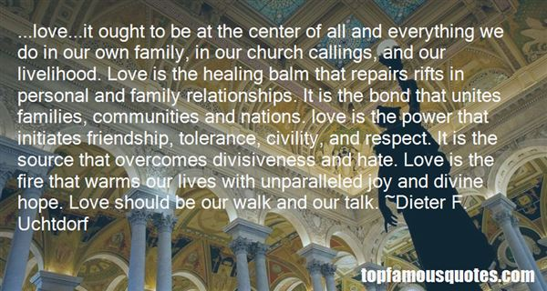 Quotes About The Bond Of Family