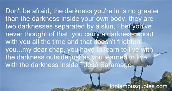 Quotes About The Dark