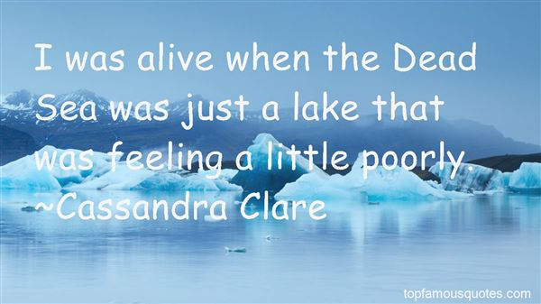 Quotes About The Dead Sea