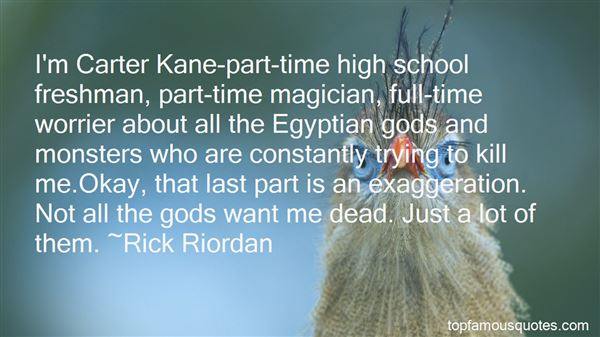 Quotes About The Egyptian Gods