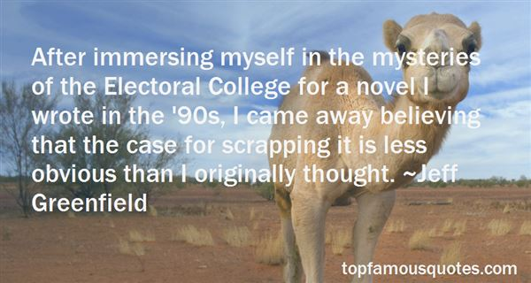 Quotes About The Electoral College