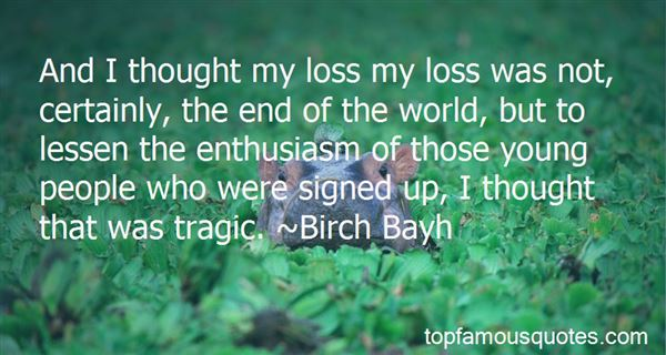 Quotes About The End Of The World
