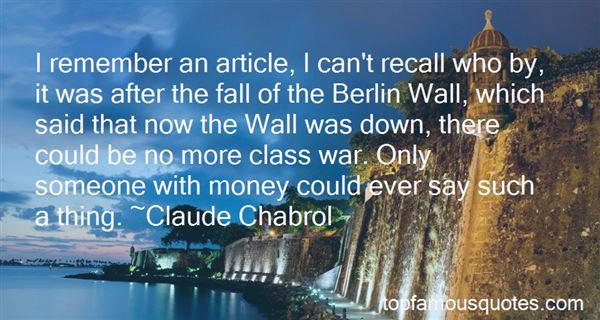 Quotes About The Fall Of The Berlin Wall