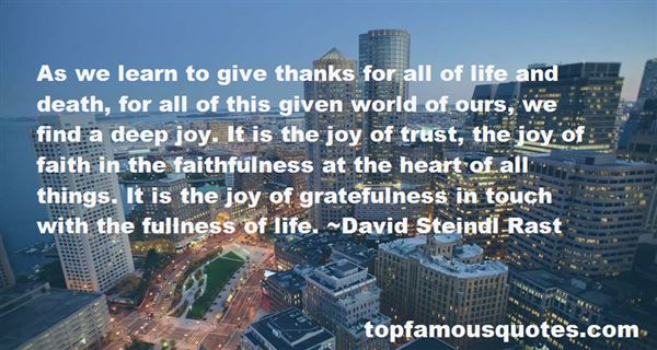 Quotes About The Fullness Of Life