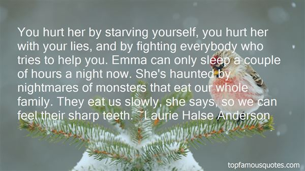 Quotes About The Giver Starving