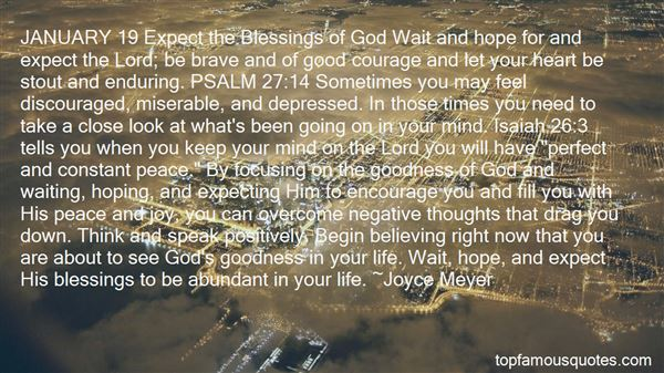 Quotes About The Goodness Of The Lord