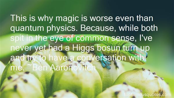 Quotes About The Higgs