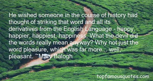 Quotes About The History Of The English Language