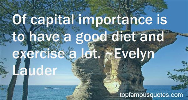 Quotes About The Importance Of Exercise
