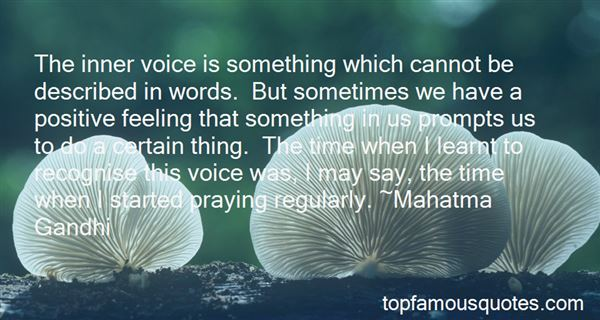 Quotes About The Inner Voice
