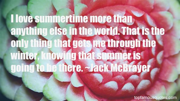 Quotes About The Joys Of Summer