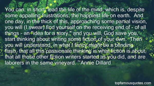 Quotes About The Life Of The Mind