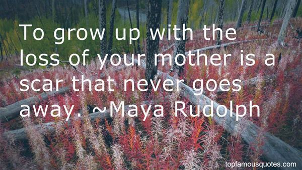 Quotes About The Loss Of Your Mother