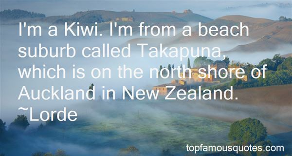 Quotes About The North Shore