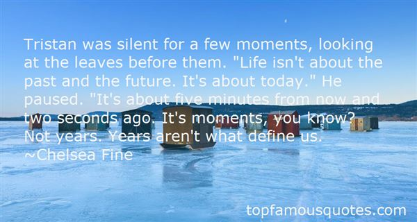 Quotes About The Past And Future