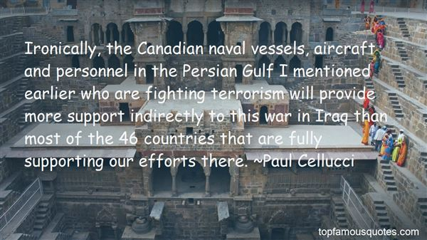 Quotes About The Persian Gulf War