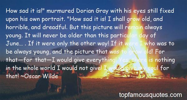 Quotes About The Picture Of Dorian Gray