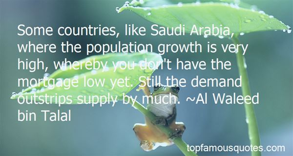 Quotes About The Population Growth