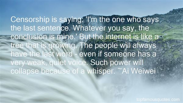 Quotes About The Power Of The Internet