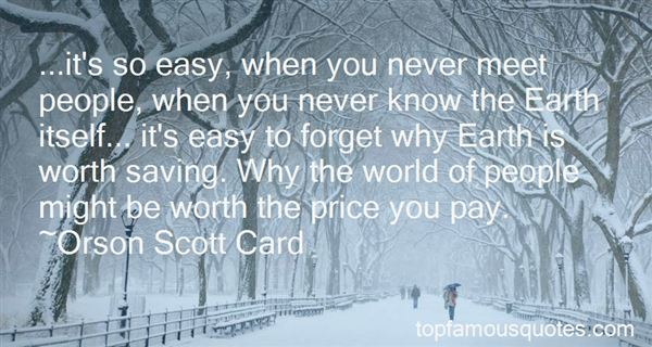 Quotes About The Price You Pay