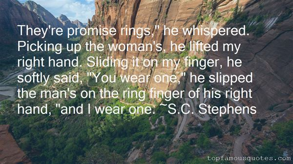 Quotes About The Ring Finger