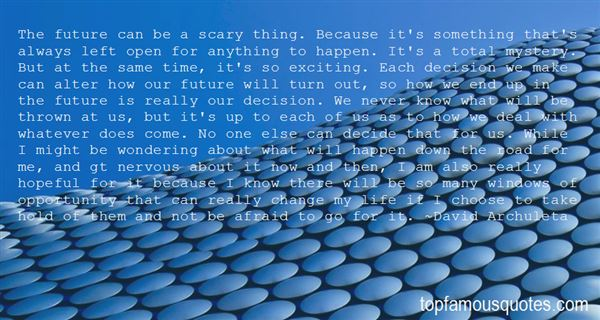 Quotes About The Scary Future