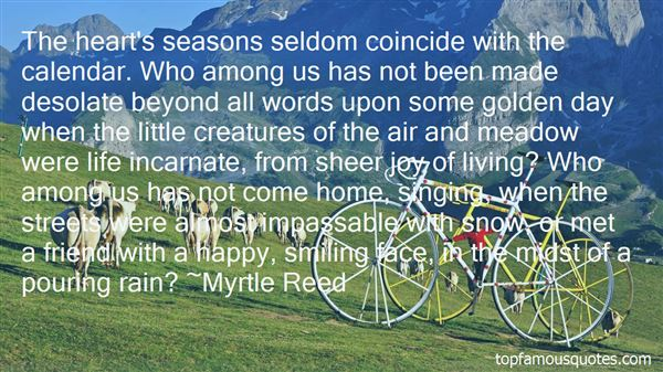 Quotes About The Seasons Of Life