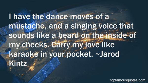 Quotes About The Singing Voice