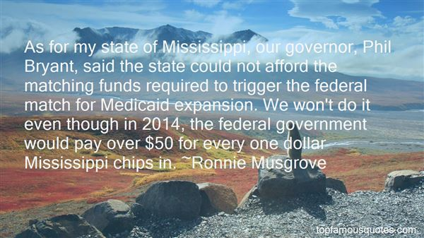 Quotes About The State Of Mississippi