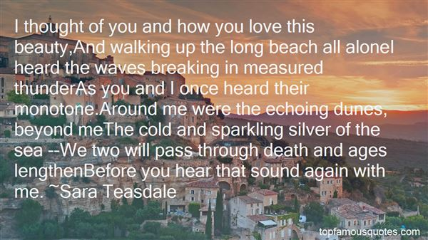 Quotes About The The Beach
