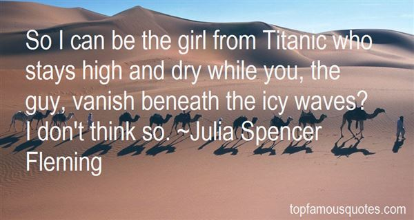 Quotes About The Unsinkable Titanic