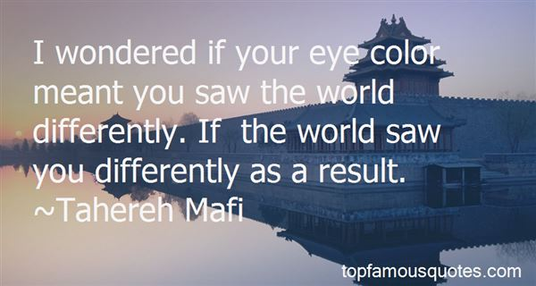 Quotes About The World And Color