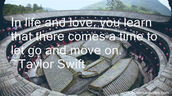 Quotes About Time To Let Go And Move On