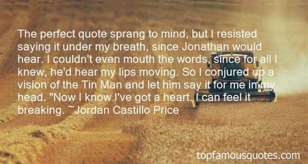 Quotes About Tin Man