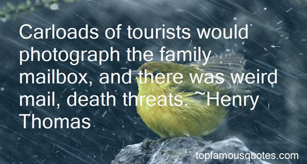 Quotes About Tourists And Tourism