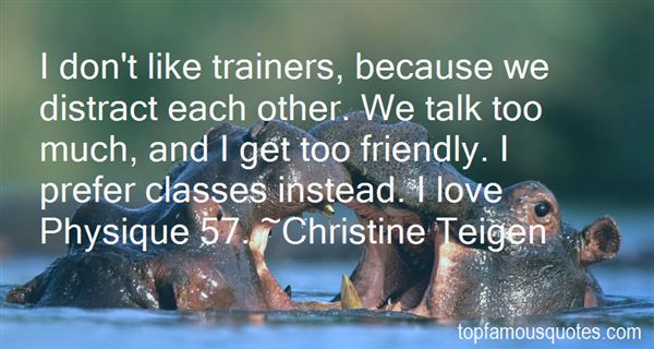 Quotes About Trainers