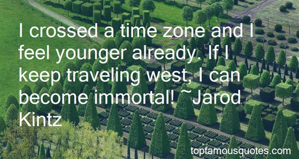 Quotes About Traveling West