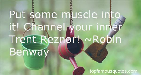 Quotes About Trent Reznor