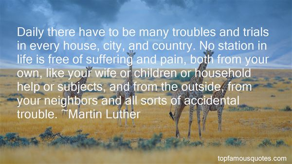 Quotes About Troubles And Trials