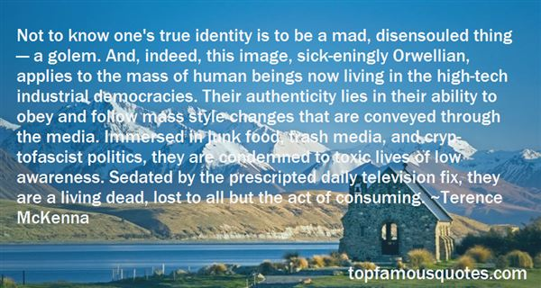 Quotes About True Identity