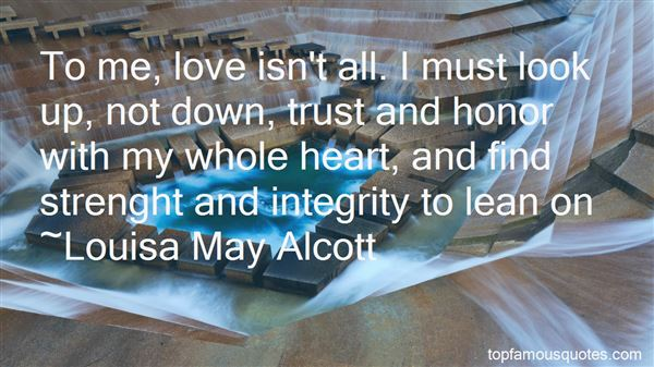 Quotes About Trust And Integrity