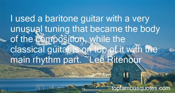 Quotes About Tuning A Guitar