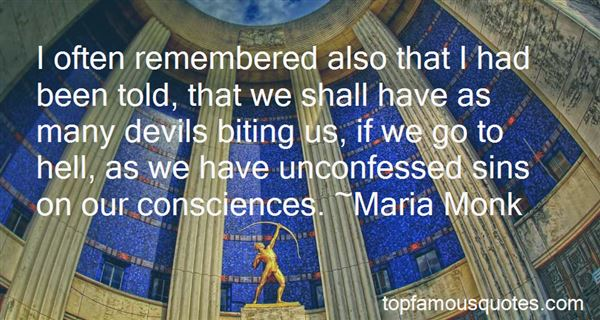 Quotes About Unconfessed Sin