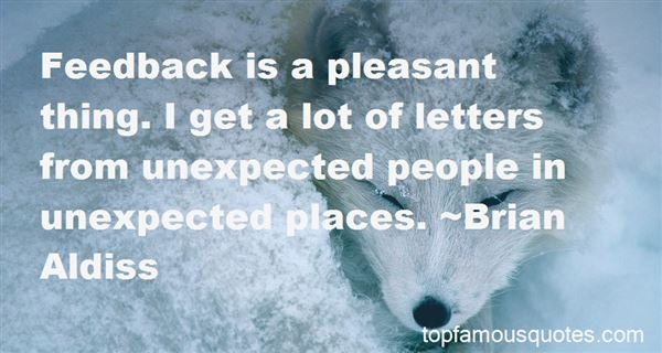 Quotes About Unexpected Places