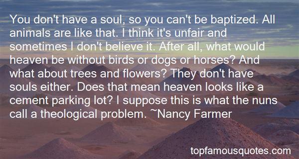 Quotes About Unfair Treatments