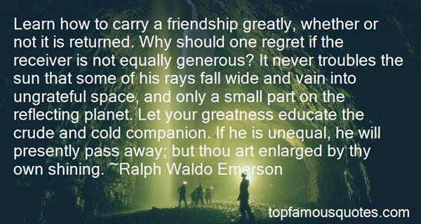 Quotes About Ungrateful Friendship