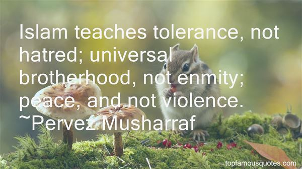 Quotes About Universal Brotherhood