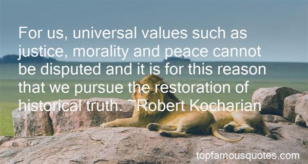 Quotes About Universal Morality
