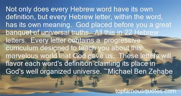 Quotes About Universal Truths