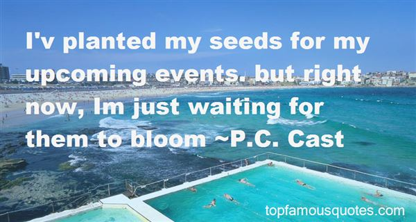 Quotes About Upcoming Events